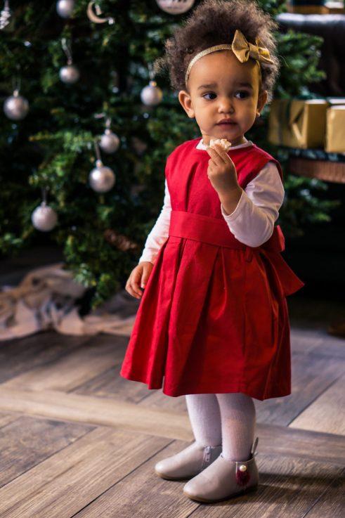 Sukienka dla dziewczynki Mini Cherry Pudding 1
