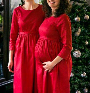 Sukienka do karmienia i ciążowa Cherry Cake 6