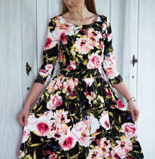 Sukienka do karmienia Flower Coffee