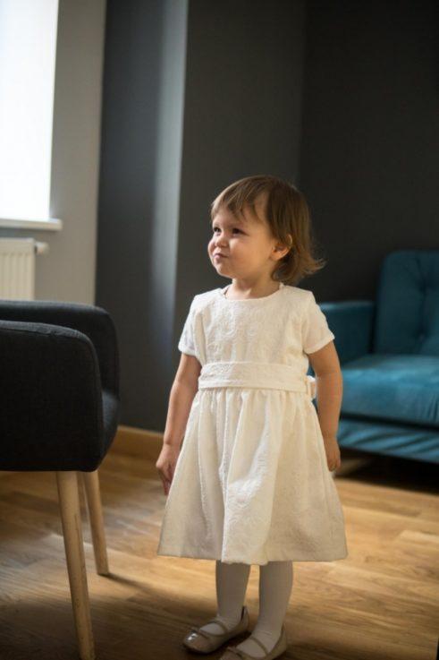 Sukienki dla dziewczynki Tulip ecru