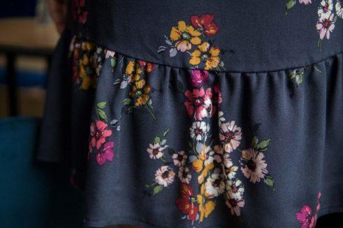 Sukienka do karmienia Meadow granatowa