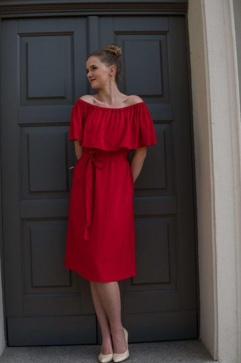 Sukienka do karmienia Lady Hibiskus