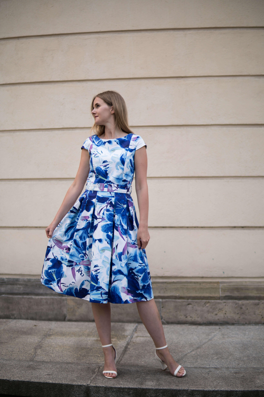 Sukienka do karmienia Tulip Hiacynt