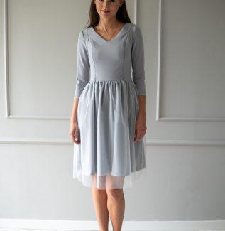 Sukienka do karmienia Fog gołębia