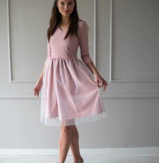 Sukienka do karmienia Fog brudny róż