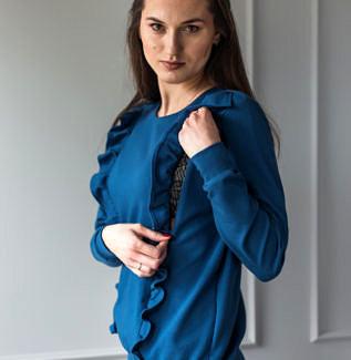 Bluza do karmienia Everyday niebieska