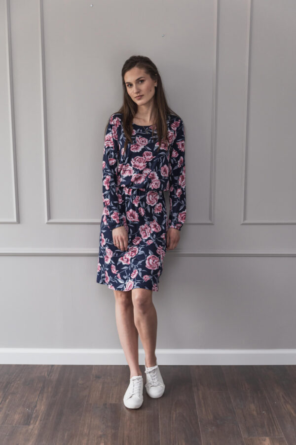 Sukienka do karmienia i ciążowa Mist Rose