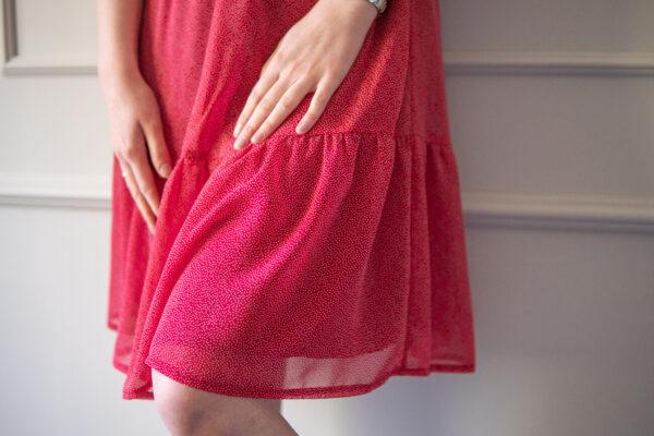 Sukienka do karmienia i ciążowa Red Constellation