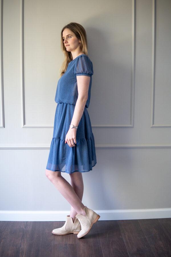 Sukienka do karmienia i ciążowa Blue Constellation