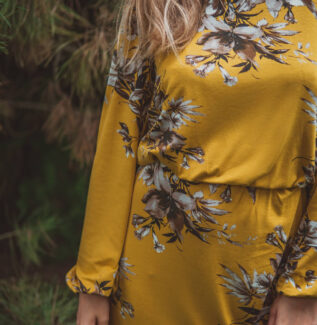 Sukienka do karmienia i ciążowa Mist-honey