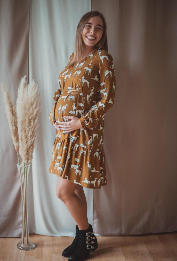 Lara doggy-sukienka ciążowa i do karmienia-limited