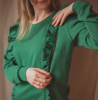 Bluza do karmienia everyday - malachit