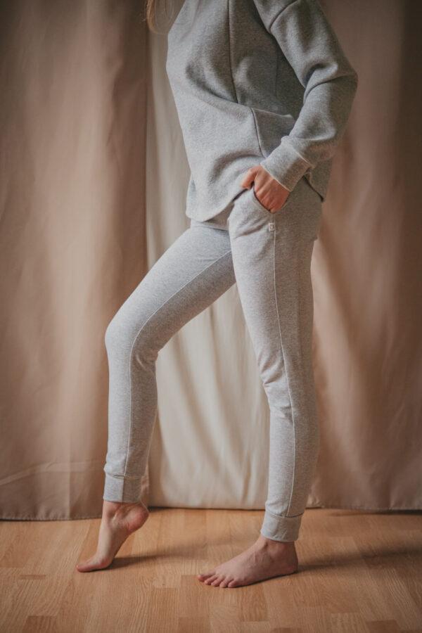 Swing 2w1 popielate - spodnie dresowe