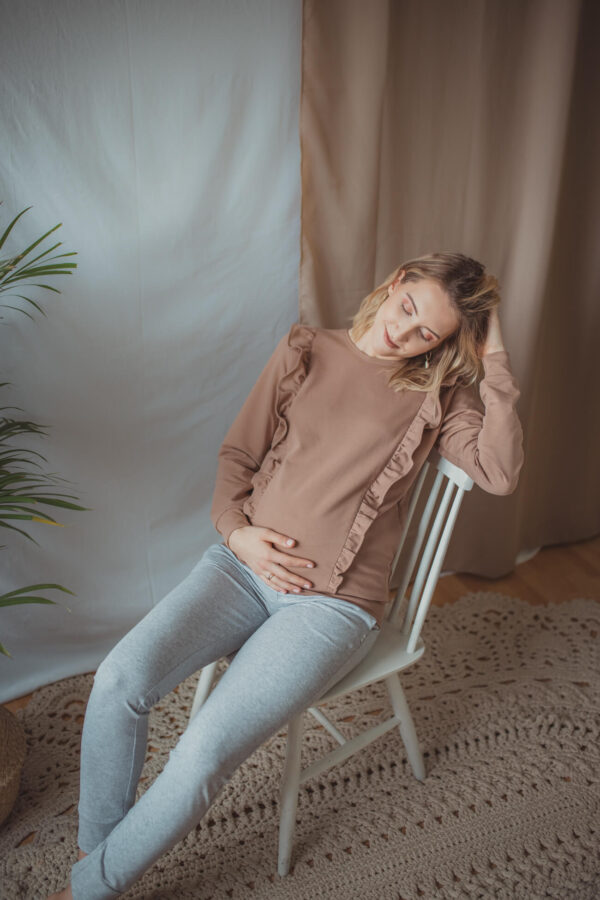 Bluza do karmienia Everyday - camel