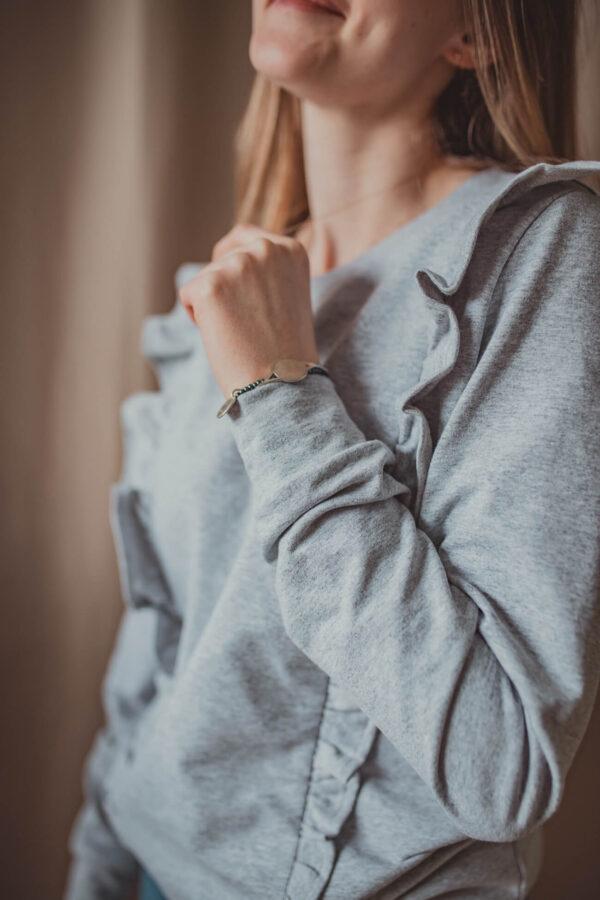 Bluza do karmienia Everyday - popiel