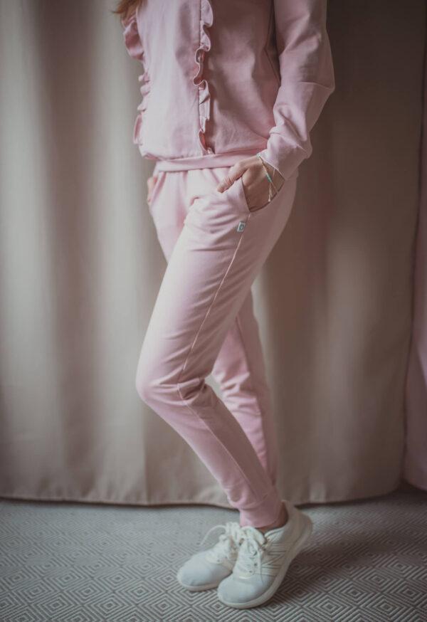 Swing 2w1 pastel pink - spodnie dresowe