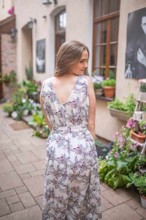 Elena white - sukienka ciążowa i do karmienia maxi